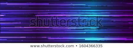 Blu vettore dati crash monitor schermo Foto d'archivio © SArts