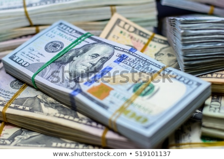 Success and got profit with pile of American dollars Stock photo © vlad_star
