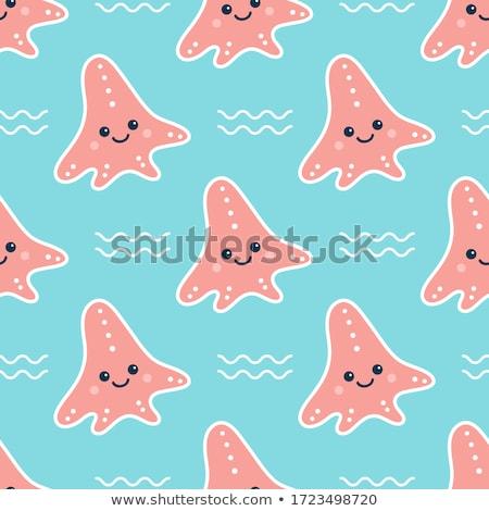 Divertente starfish Ocean illustrazione acqua natura Foto d'archivio © adrenalina