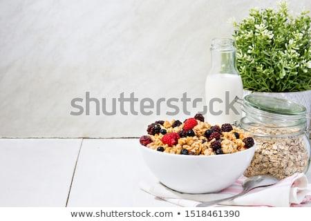 groupe · fraîches · bleuets · isolé · blanche · fruits - photo stock © yelenayemchuk