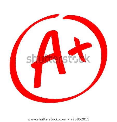 A plus grade with pen Stock photo © icemanj