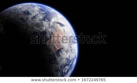планете Земля Австралия Океания Элементы изображение 3D Сток-фото © ixstudio