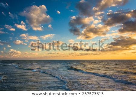 Sunset colorful sky clouds Mexico  Stock photo © lunamarina