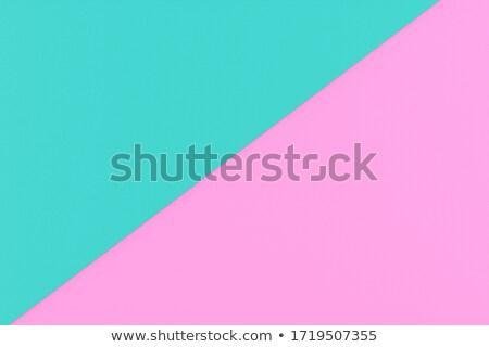 Banner dekken origami twee kleuren vorm Stockfoto © Olena