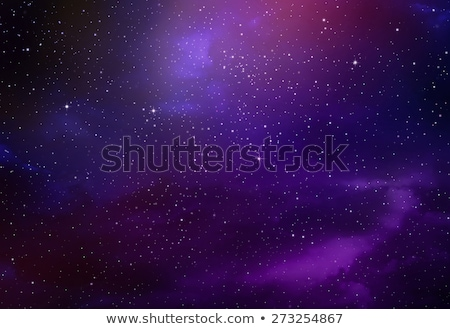 Abstract space with purple and violet stars Stock photo © sidmay