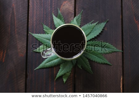 Dry Cannabis leaves Stock photo © bdspn