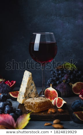 Grape and honey stock photo © YuliyaGontar