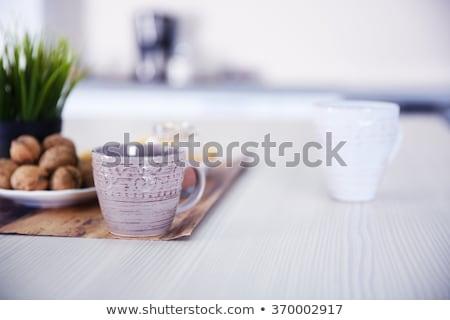 クローズアップ ホーム アプライアンス セット キッチン 家 ストックフォト © AndreyPopov