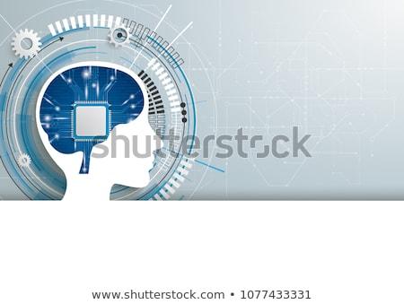 Viselet építkezés nyáklap fehér papír szöveg Stock fotó © limbi007