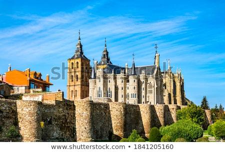 Widoku katedry pałac architekta jeden francuski Zdjęcia stock © diego_cervo