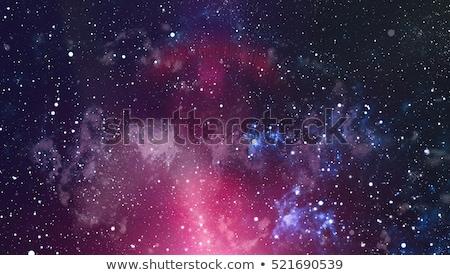 Star campo cielo notturno spazio nebulosa Foto d'archivio © NASA_images