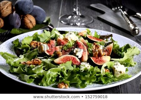 Sałatka zielone sałata apetyczny zdrowych Zdjęcia stock © dashapetrenko