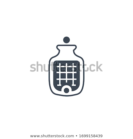 Medical Warmer related vector glyph icon. Stock photo © smoki