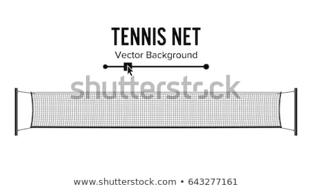 Tennis Net Stockfoto © pikepicture