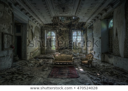 derelict mansion Stock photo © sirylok