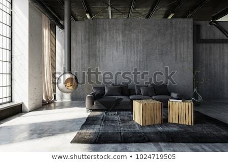 スタイリッシュ · ソファ · 建設 · インテリア · 光 · デザイン - ストックフォト © Victoria_Andreas