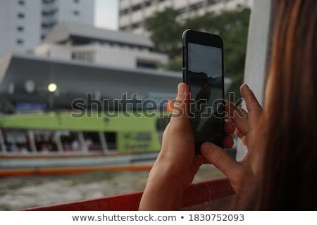 写真 · スマートフォン · 公共 · スペース · 男性 - ストックフォト © adamr