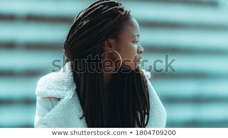 изысканный женщины портрет изящный балерины сидящий Сток-фото © pressmaster