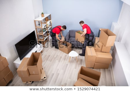 Mover packing box Stock photo © photography33