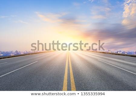 korku · miasta · rząd · samochody · drogowego · spieszyć · godzin - zdjęcia stock © broker