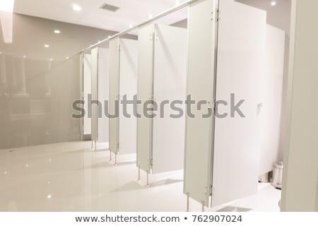 Men lavatory in modern building in a public restroom Stock photo © RuslanOmega
