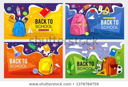 Coloring in school Stock photo © photography33