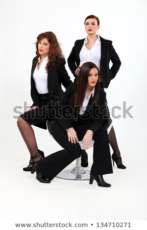 Trio of dynamic businesswomen Stock photo © photography33
