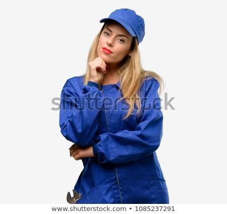 肖像 女性 見える 困惑して 女性 ストックフォト © photography33