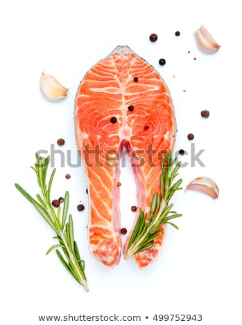 taste red fish Stock photo © shutswis