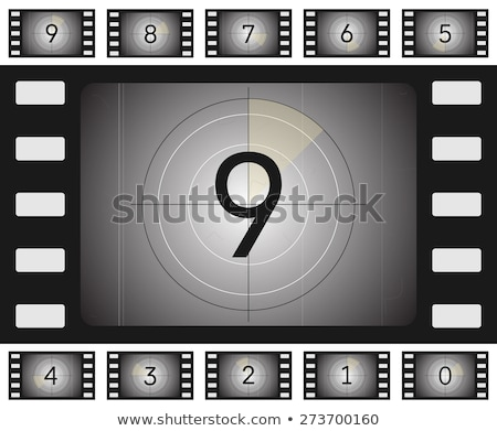 Film Reel Countdown Stock photo © idesign
