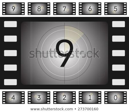 film reel countdown stock photo © idesign