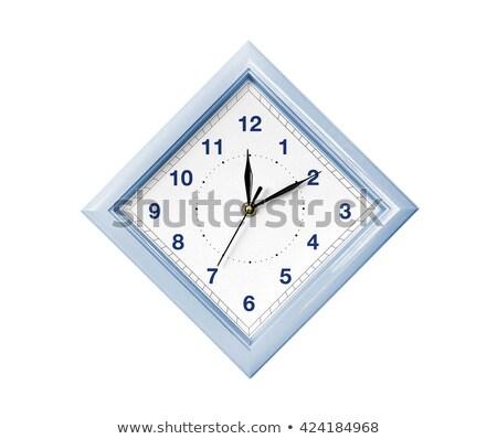 Rhombus wall clock Stock photo © shutswis