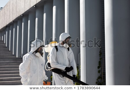 Two Exterminator in the City Stock photo © tepic