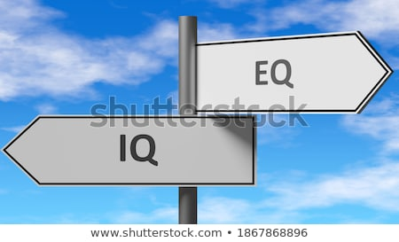 Road Sign with words Make a Decision Stock photo © Quka