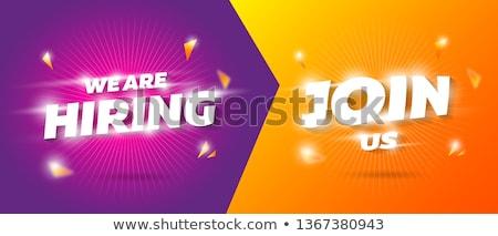 3d emberek szó nagy vásár színes kockák Stock fotó © Quka