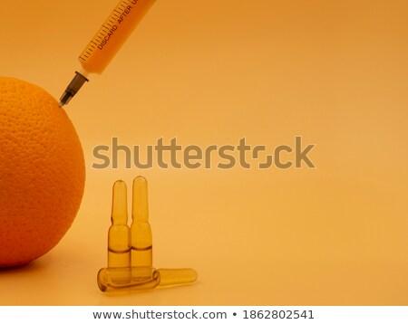 Químico produto laranja branco fruto saúde Foto stock © wavebreak_media