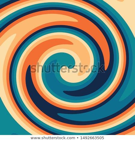 Kleurrijk draaikolk variëteit kleuren abstract Stockfoto © ArenaCreative