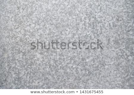 Zinced Tin Surface. Seamless Texture. Stock photo © tashatuvango