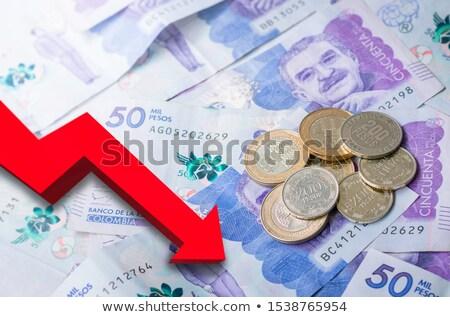 Financeiro fundo banco numerário objeto economia Foto stock © dacasdo