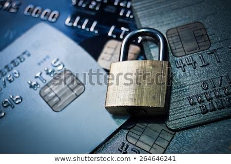 kradzież · tożsamości · ubezpieczenia · społeczne · karty · laptop · klawiatury · notebooka - zdjęcia stock © snyfer