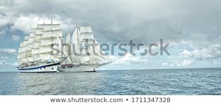 plaisir · port · bateaux · sport · navire · paysages - photo stock © alphababy
