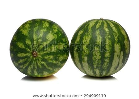 two Melon fruits Stock photo © lunamarina