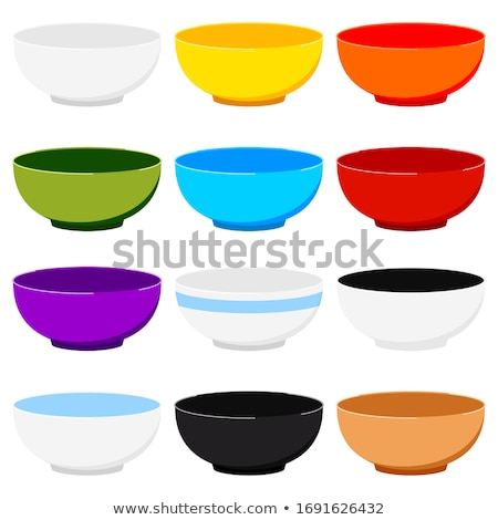 Green china soup dishware Stock photo © karandaev