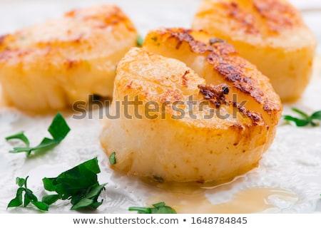 fried scallop Stock photo © M-studio