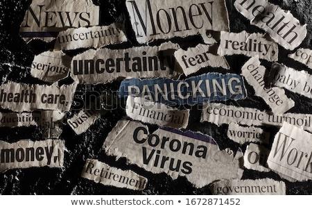 Headline Finance Stock photo © devon
