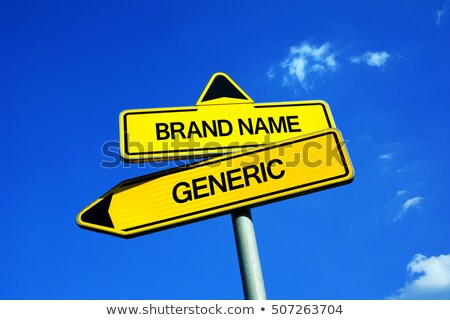 Generic Brand Versus Brand Name Stock photo © Lightsource