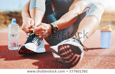 Esportes atividade homem nu torso Foto stock © pressmaster