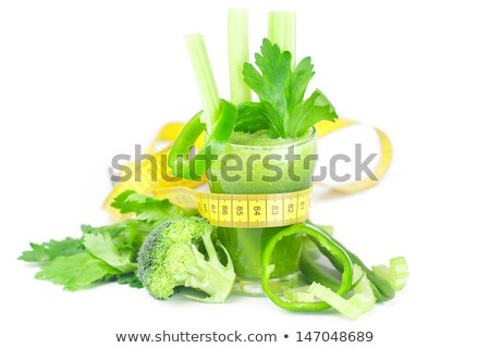 Foto stock: Legumes · salada · tomates · fita