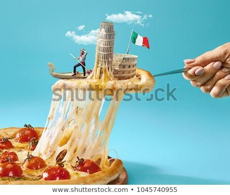 Italian gondolier stock photo © vectorpro