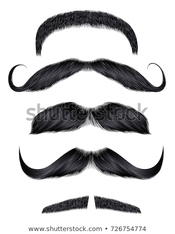 Colored mustaches isolated  Stock photo © kariiika